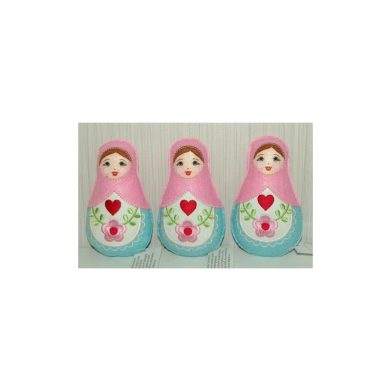 Soft dolly set of 3 ( medium)