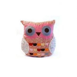 Owl Pillow - Pink