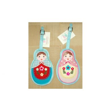 Bag Tags - 2 x Luggage tags Babushka
