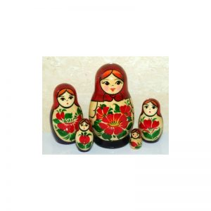 Nolinsk 5 set (Red with Purple dress )