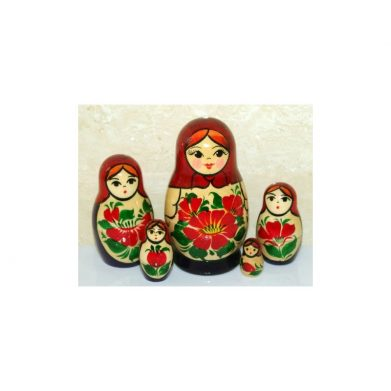 Nolinsk 6 set (red with Purple Dress )