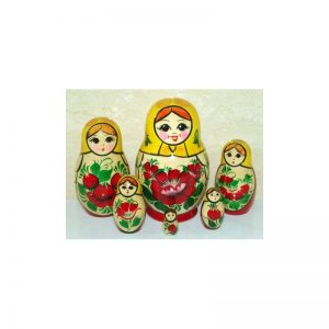 Nolinsk 6 set (Yellow with Red Dress )