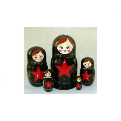 Peterburg 5 set Star Black