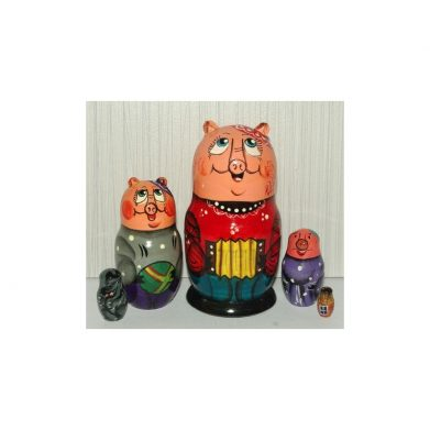 PIGGY Family 5set