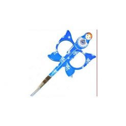 Babushka scissors 1 pc - Blue