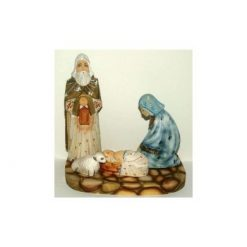 Nativity: Carved Wood