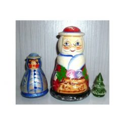 Santa, Snow Maiden & Tree 3-set