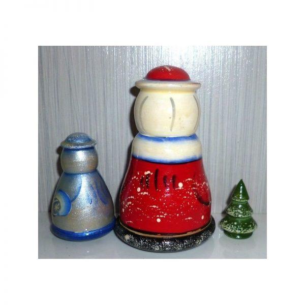 Santa, Snow Maiden & Tree 3-set