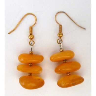 Earrings selected amber 6