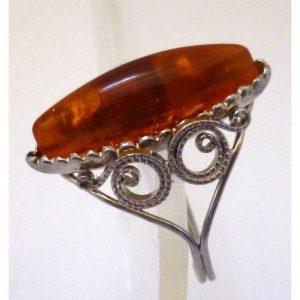 Ring amber 1