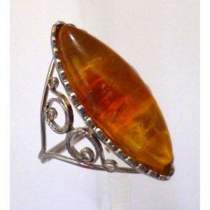 Ring amber lighter