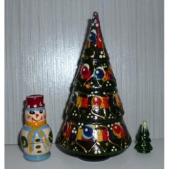Xmas Tree and snowman 3-set