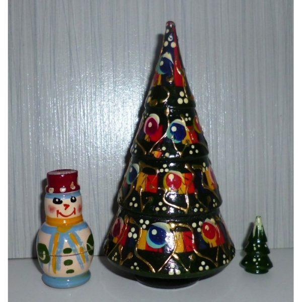 Xmas Tree and snowman 3-set