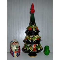Xmas Tree, Santa, tiny tree 3-set