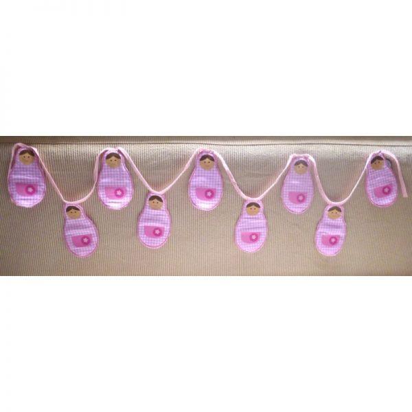 Bunting Babushka Pink