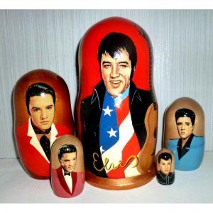 Elvis Presley with guitar