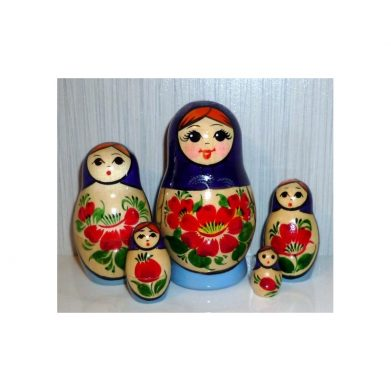 Nolinsk 5 set (Red with Yellow Dress )