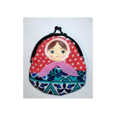 Coin purse Babushka (clip)