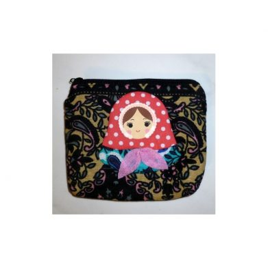 Coin purse Babushka