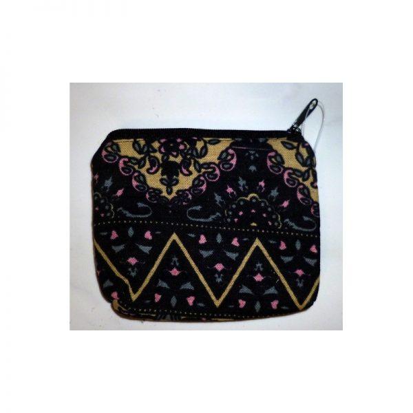 Coin purse Babushka (zipper) black