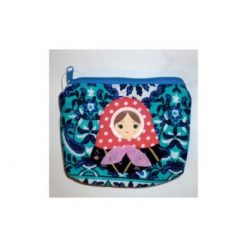 Coin purse Babushka (zipper)