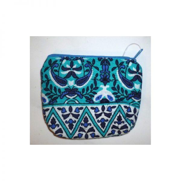 Coin purse Babushka (zipper) blue