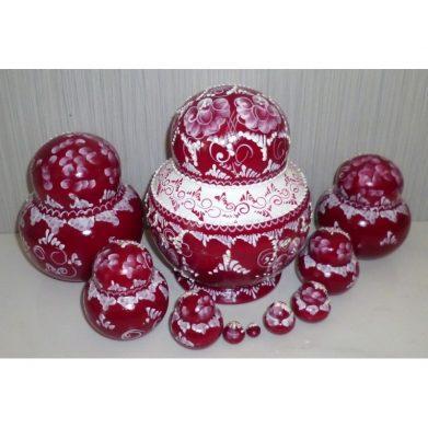 Bride in red 10-set