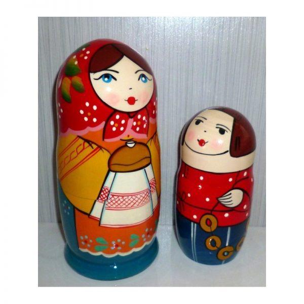 Olga with traditional bread & salt