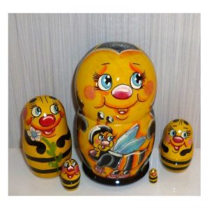 Bee Family 5-set