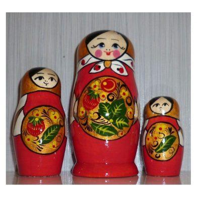 Tableware from Hohloma