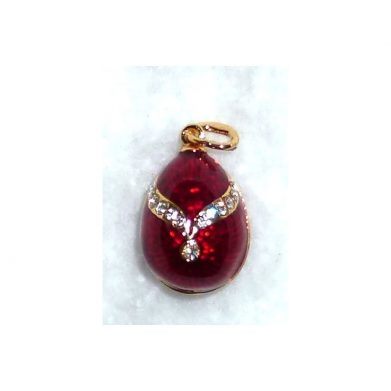 Imperial pendant in red