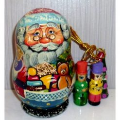 Santa - Small decorations box