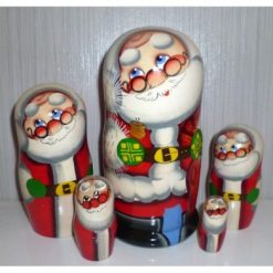 Santa William medium 5-set