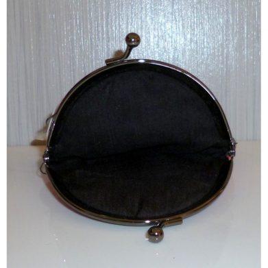 Coin purse Babushka in black