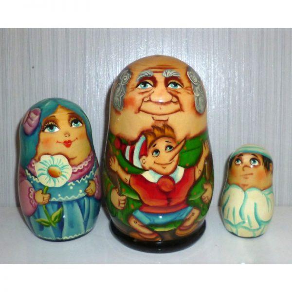 Pinocchio two 3-set