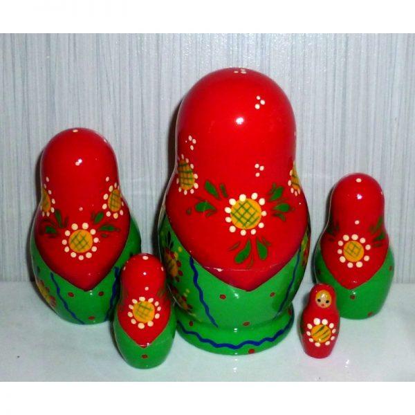 Natasha with traditional toys