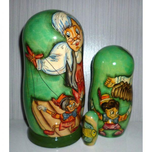 Pinocchio in green