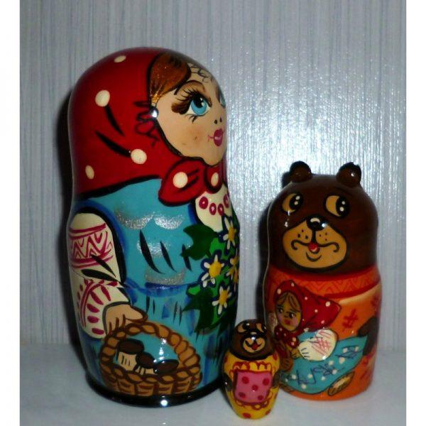 Goldilocks and three bears small
