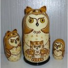 Albert the Owl light brown small