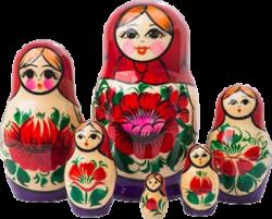 Dolls in Dolls- babushka babushkas dolls